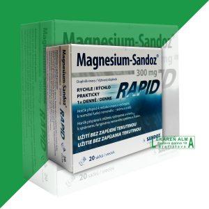 MAGNESIUM SANDOZ RAPID 300mg 1×20 kusov