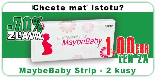 Akcia Maybebaby Strip 2 kusy