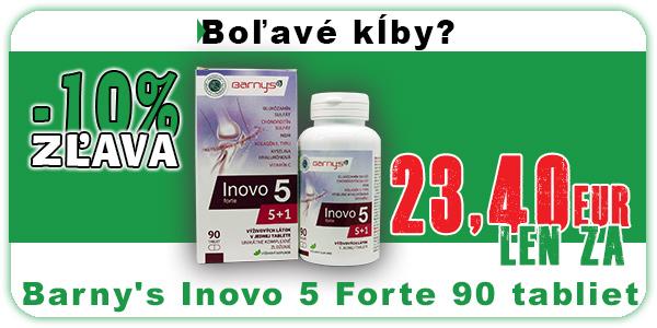 Akcia Barny's Inovo 5 Forte 90 tabliet