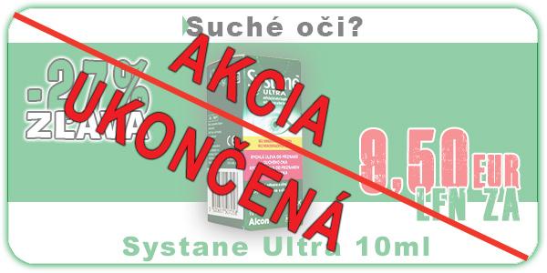 AKCIA SYSTANE ULTRA Bez konzervačných látok 10ml